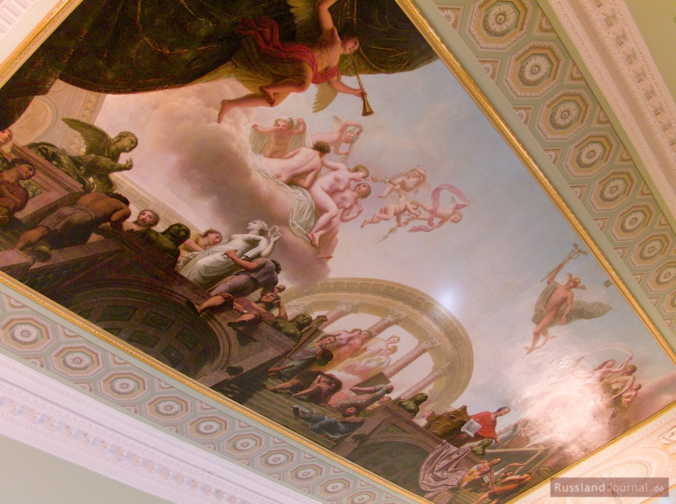 Rafael-Galerie, Fragment der Deckenmalerei