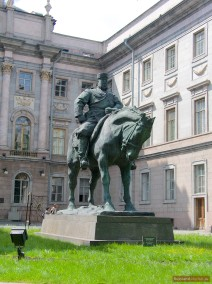 Reiterstatue des Zaren Alexander III.