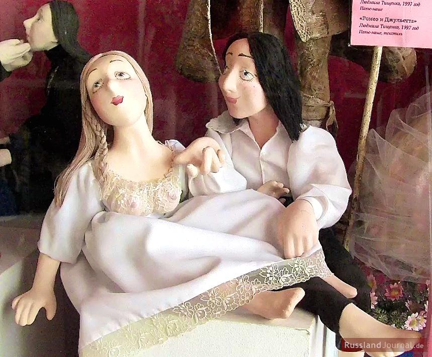 Romeo und Julia als Puppen