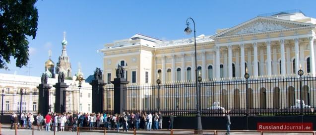 Russische Museum und Erlöserkirche