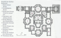 DuMont Kunst Reiseführer Russland Basilius Kathedrale Grundriß