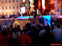 Party-Stimmung auf dem Schlossplatz