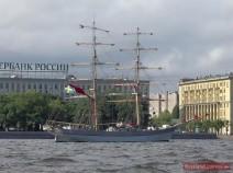 Segelschiff vor Anker