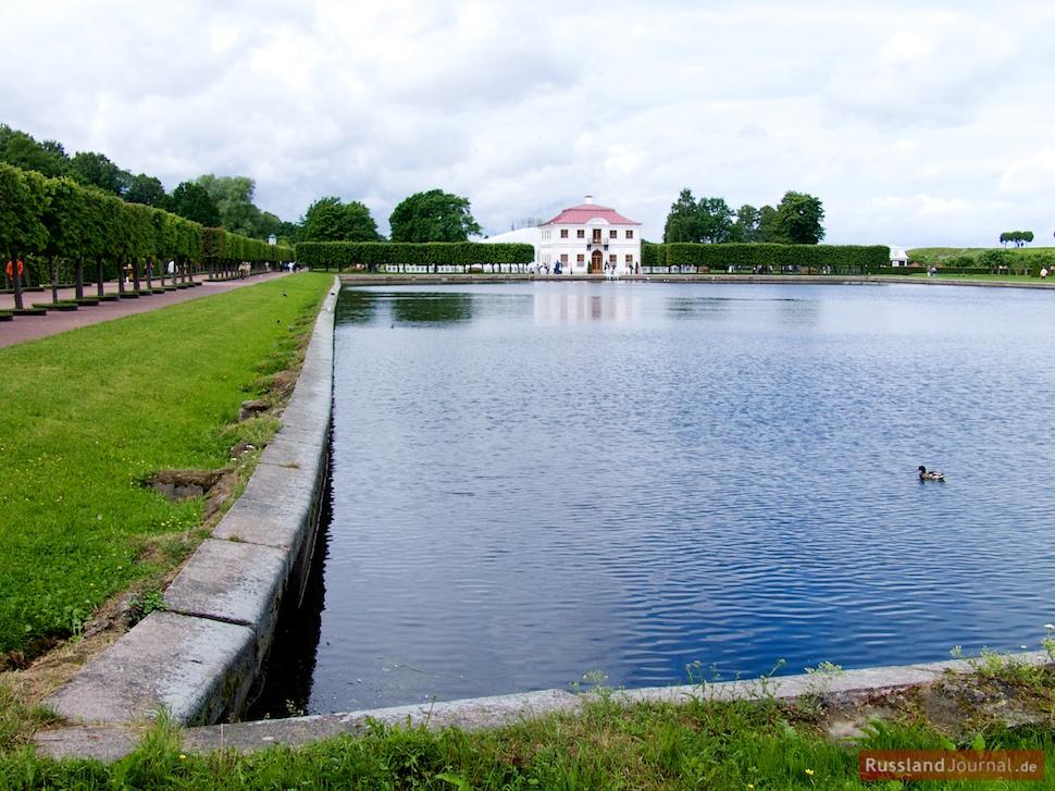 Teich bei Schloss Marly