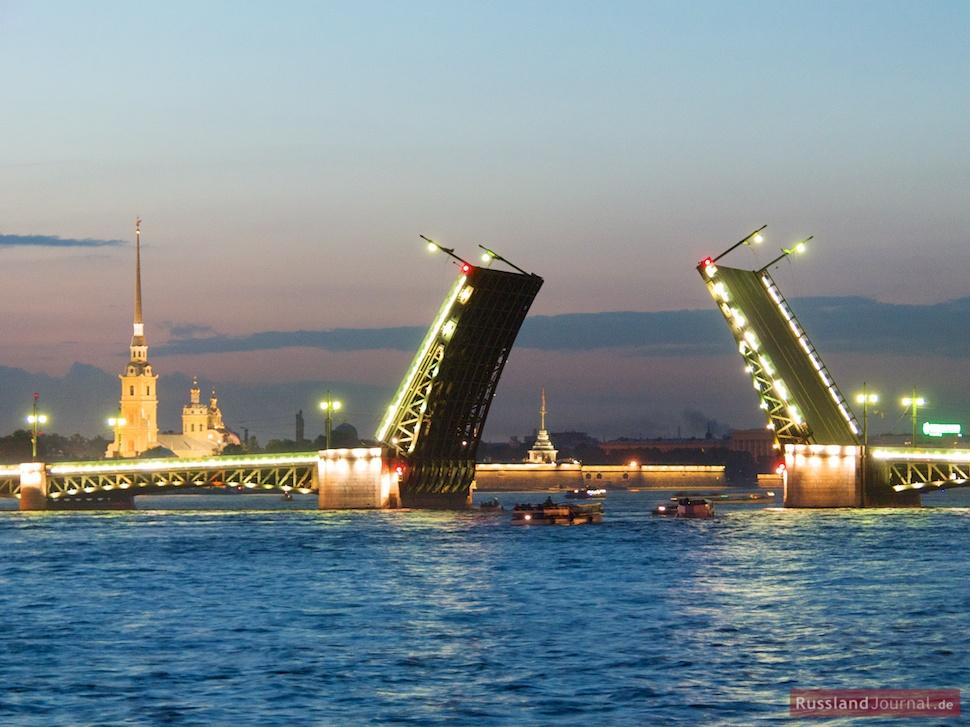 Weiße Nächte In Sankt Petersburg Russlandjournalde