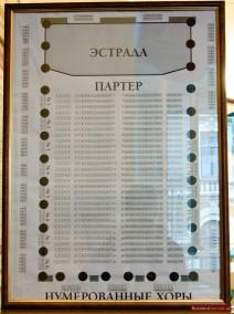 Sitzplan des Großen Saals