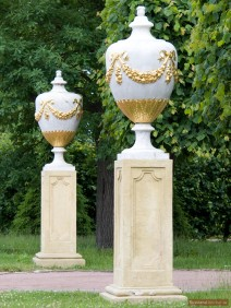 Skulpturen im Unteren Park