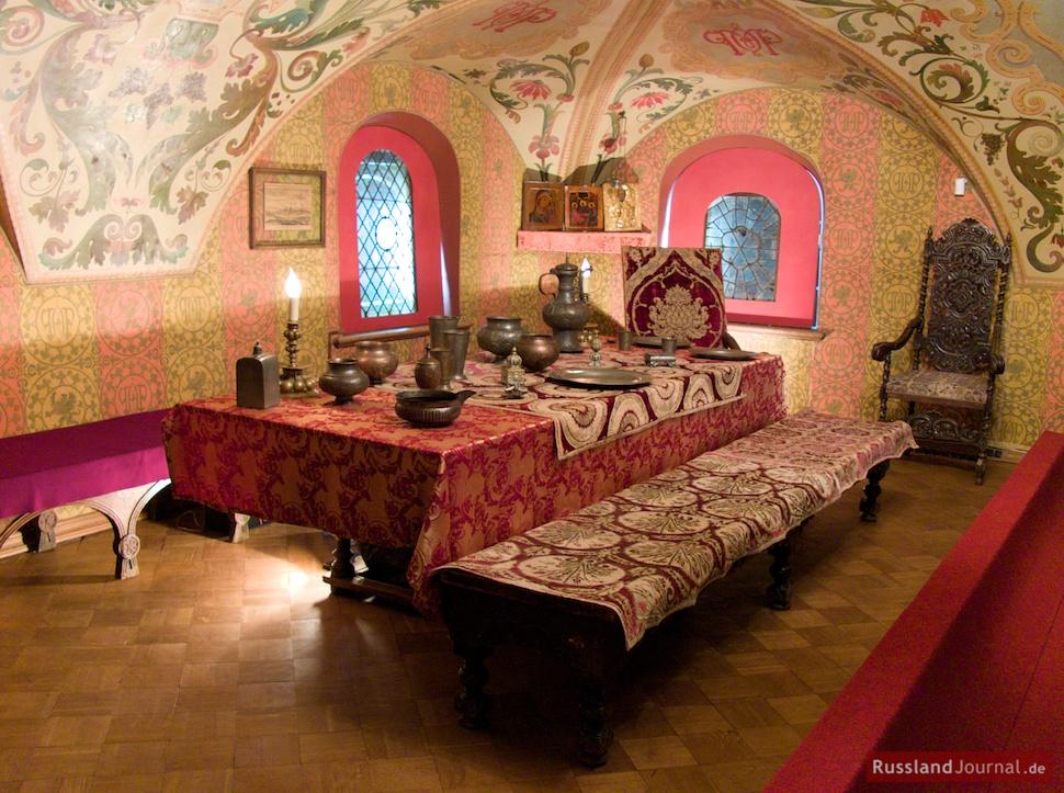 Speise- und Empfangszimmer im Romanow-Palast