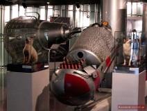 Schleuder-Kapsel von Sputnik-5