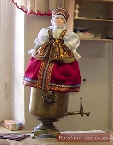 Teewärmer-Puppe