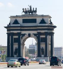Triumphbogen in Moskau