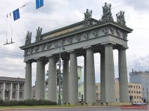 Triumphbogen am Platz 'Moskowskije worota'