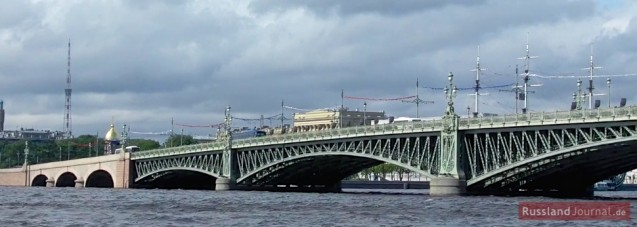 Troitzkij-Brücke oder Dreifaltigkeitsbrücke