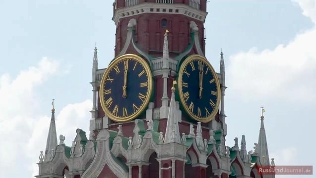 Uhr des Spasski Turm