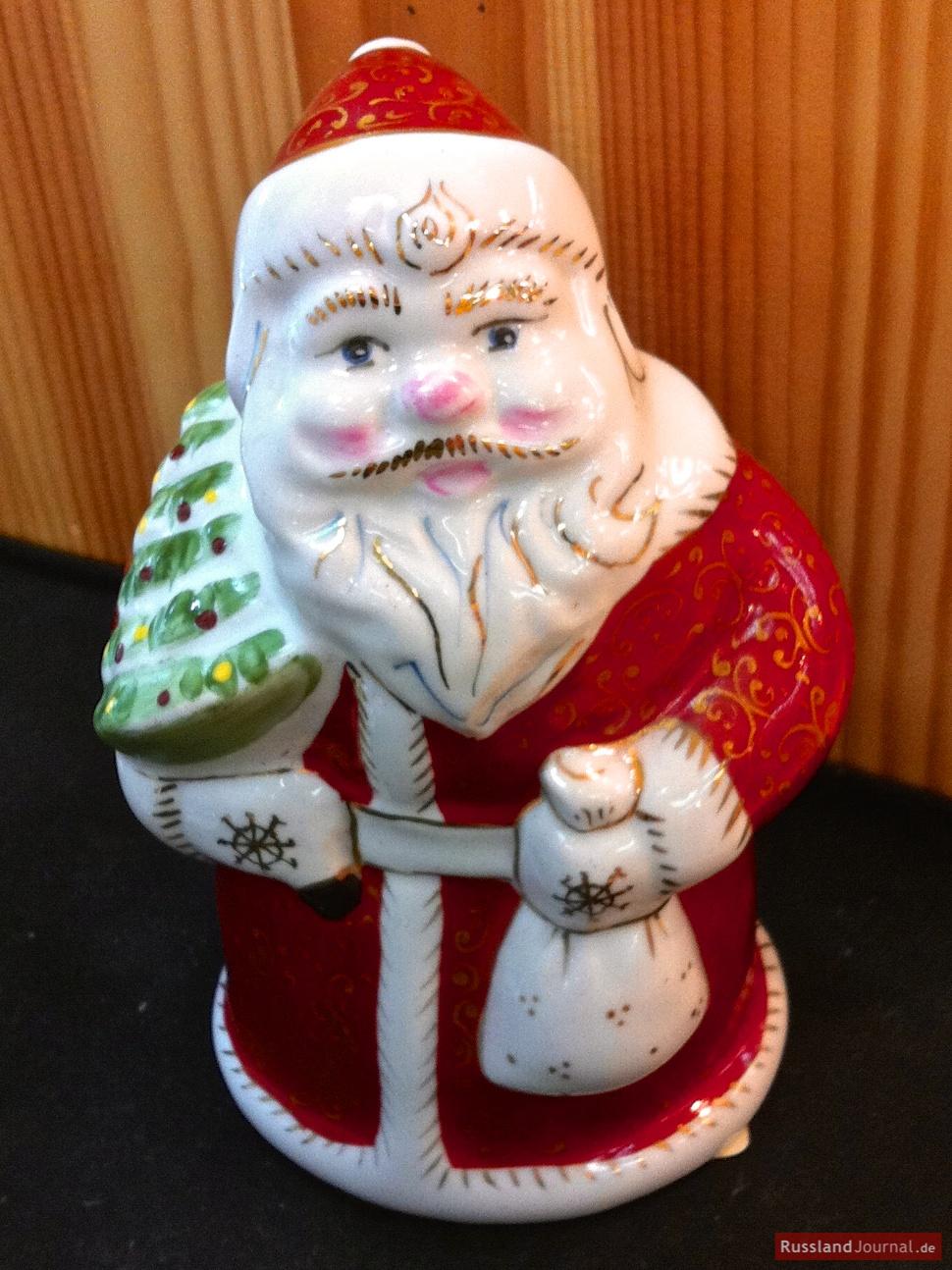 Väterchen Frost als Porzellanfigur