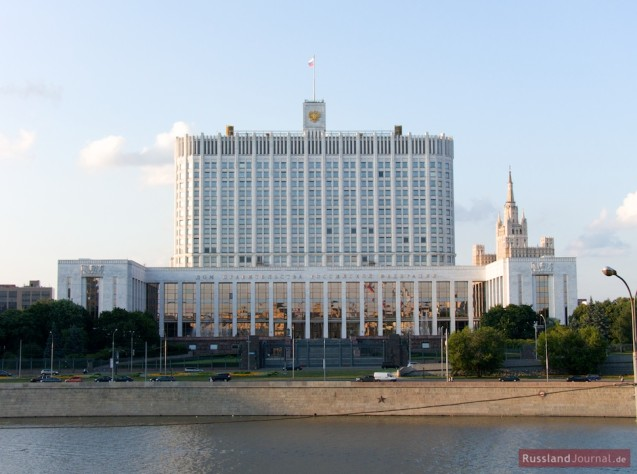 Das Weiße Haus in Moskau