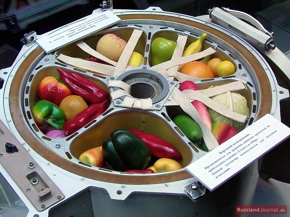 Weltraum-Kühlschrank
