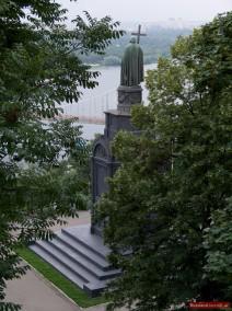 Denkmal für Großfürst Wladimir I. in Kiew, Ukraine