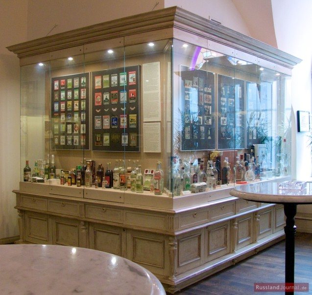 wodka museum in sankt petersburg. Black Bedroom Furniture Sets. Home Design Ideas