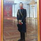 Portait des Zaren Nikolaus II., Ilja Repin