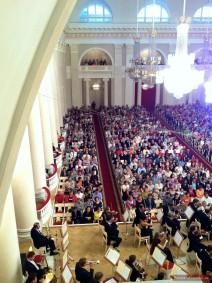 Zuschauerraum des Großen Saals der St. Petersburger Philharmonie