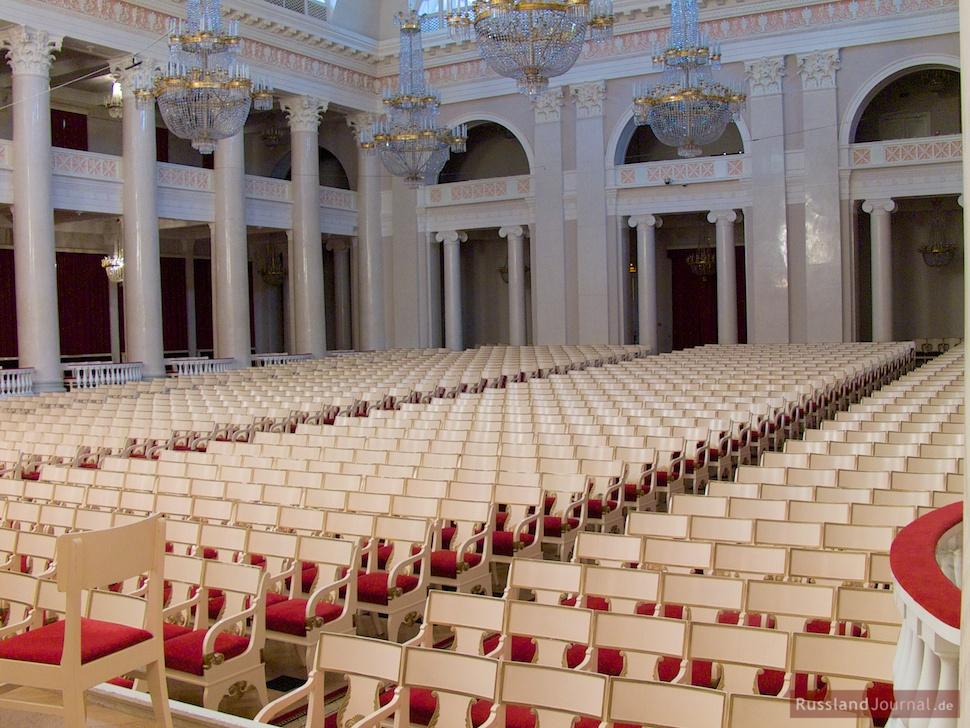 Zuschauerraum des Großen Saals