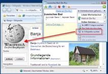 """Wikipedia-Eintrag für """"russisches Bad"""" aus dem ABBYY Lingvo Wörterbuch x3 suchen"""