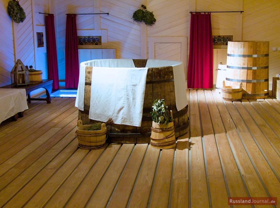 Bad im Zarenpalast in Kolomenskoje