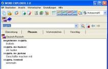 Phrasen und Sätze im E-Wörterbuch Russisch/Deutsch Word Explorer 2.0
