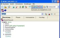 Synonyme im E-Wörterbuch Russisch/Deutsch Word Explorer 2.0