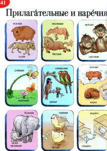 Russische Adjektive und Adverbien in Paaren im ELI Illustrierten Wortschatz Russisch