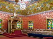 Empfangsaal im Zarenpalast in Kolomenskoje