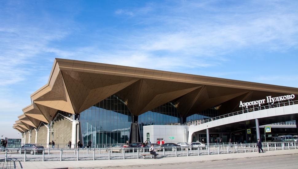 Flughafen Pulkovo St. Petersburg