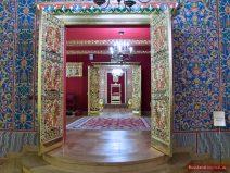 Innenräume im Zarenpalast in Kolomenskoje