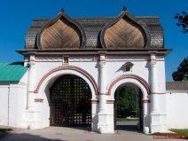 Hintertor zur Zarenresidenz in Kolomenskoje