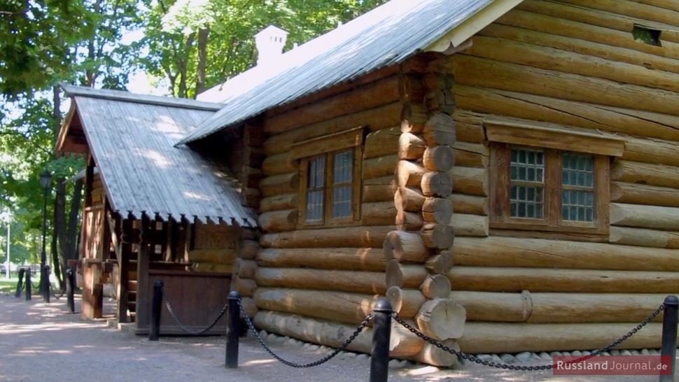 Holzhaus von Peter I. dem Großen in Kolomenskoje