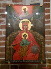Ikone der Gottesmutter in der Christi-Himmelfahrts-Kirche, Kolomenskoje
