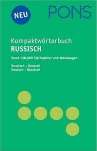 PONS Kompaktwörterbuch Russisch-Deutsch