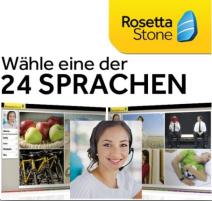 Rosetta Stone Sprachauswahl