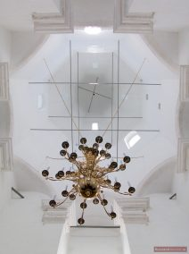 Das Zeltdach von Innen, Christi- Himmelfahrts-Kirche, Kolomenskoje