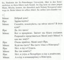 Dialog aus dem PONS Powerkurs für Anfänger Russisch