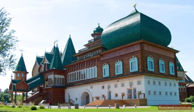 Holzpalast des Zaren Alexei Romanow in Kolomenskoje