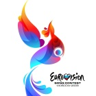Rot-blauer Feuervogel: Das Logo des Eurovision Song Contests 2009 in Moskau