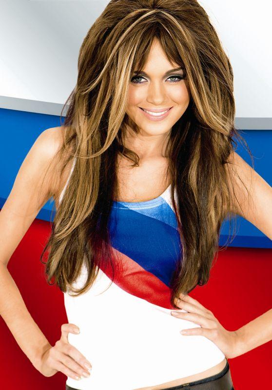 Plakat Eurovision-2009 Miss World als Russland
