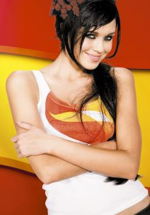 Plakat Eurovision-2009 Miss World als Spanien
