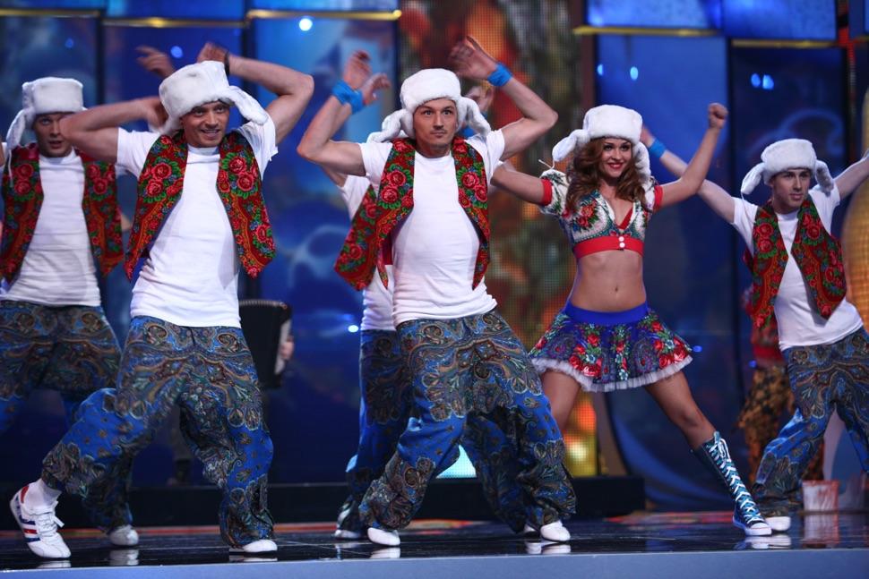 Feurige Tänze mit russischem Touch