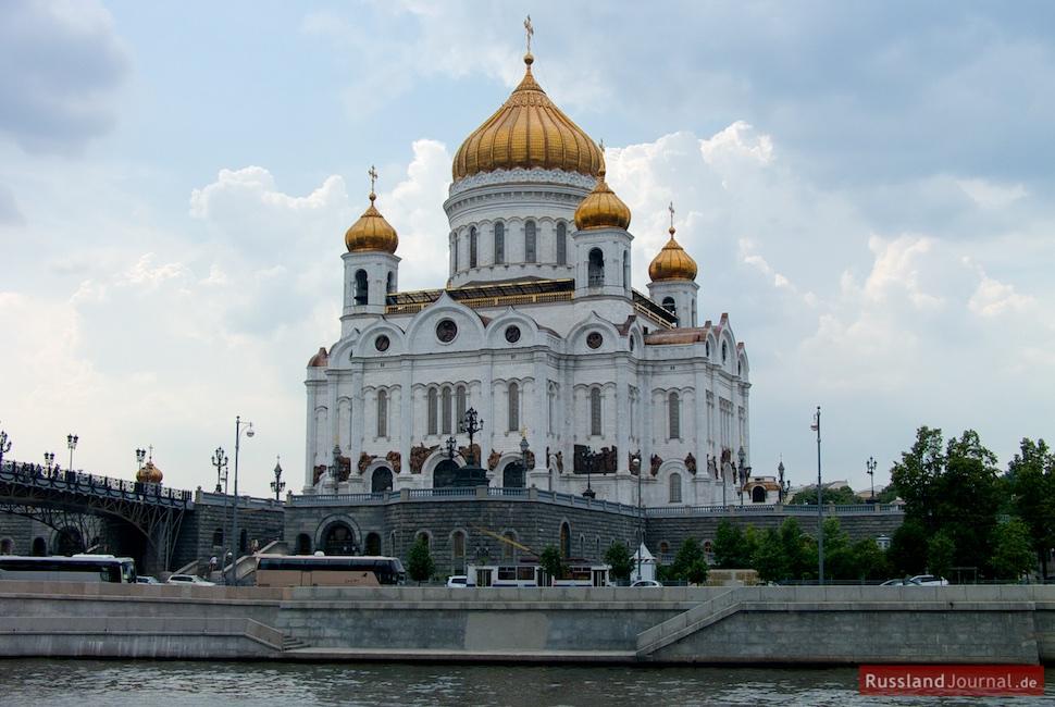 Christ-Erlöser Kathedrale in Moskau