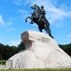 Denkmal für Peter den Großen in St. Petersburg