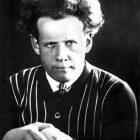 Sergej Eisenstein, schwarz-weißes Foto, 1910er Jahre