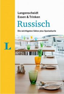 """Titelblatt des E-Books """"Essen & Trinken"""", Langenscheidt Sprachführer Russisch,"""